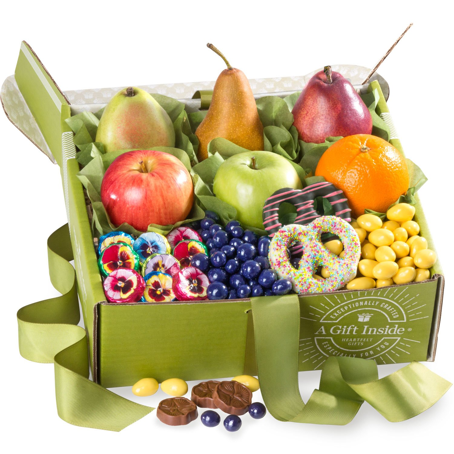 Golden State Fruit Spring Festival Fruit and Chocolate Gift Box