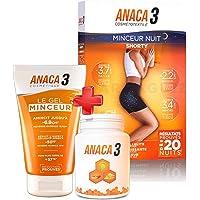 Anaca 3 - Anaca3 KIT MINCEUR ETE - Gélules Minceur + Gel Minceur + Shorty Minceur NUIT Taille LXL