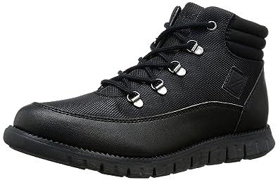 Cole Haan Zerogrand Fashion Hiker Boot (Little Kid/Big Kid), Black-