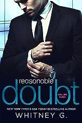 Reasonable Doubt 3 Kindle Edition