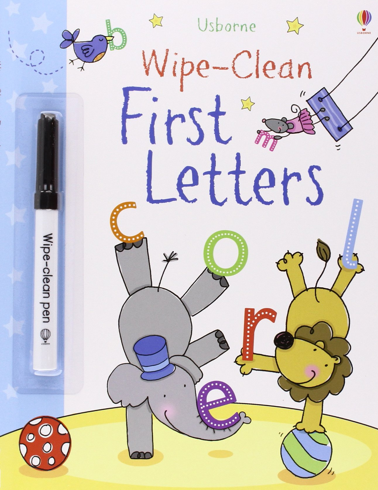 First Letters Usborne Clean Books product image