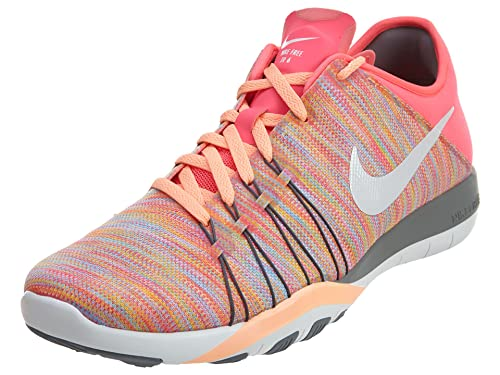 5f661d1b2c96 Nike Free Tr 6 Amp Sz 10 Womens Cross Training Racer Pink White-Cool ...