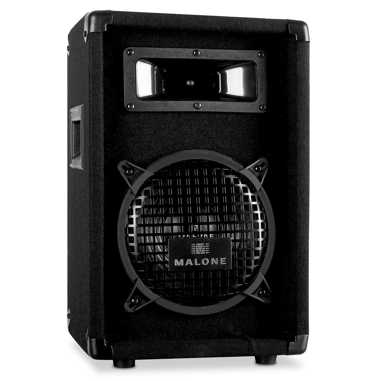 - 1600 Watt Malone PW-1522 All-White PA-Lautsprecherpaar 3-Wege System, 38cm , Flansch 15 Zoll