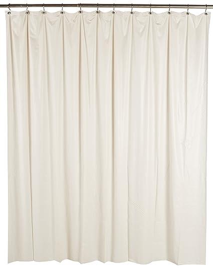 Ex Cell Soft Sensation Shower Curtain Liner Ivory