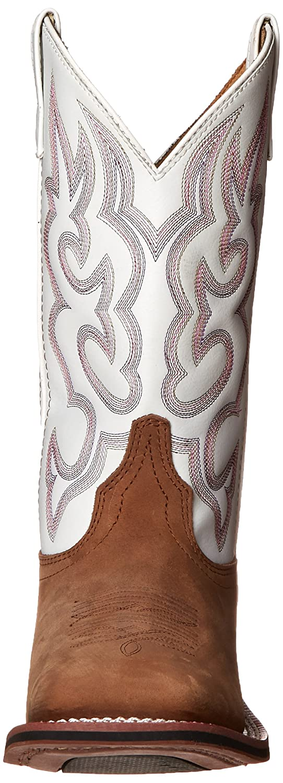 Laredo Women's Mesquite Western B(M) Boot B009LM9L58 7 B(M) Western US|Taupe/White c91b62