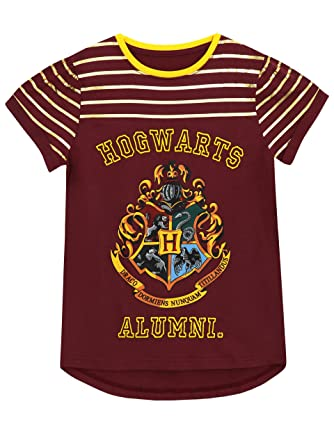 105ca2fd HARRY POTTER Girls T-Shirt Ages 5 to 13 Years: Amazon.co.uk: Clothing