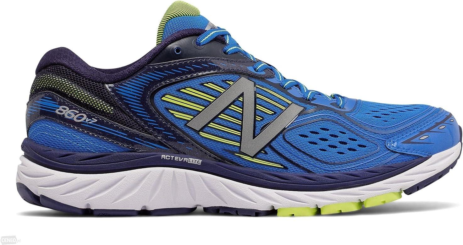 New Balance 860 V7 Azul (4E ANCHO - MUY ANCHO) Hombre - Azul, 42,5 EU: Amazon.es: Deportes y aire libre