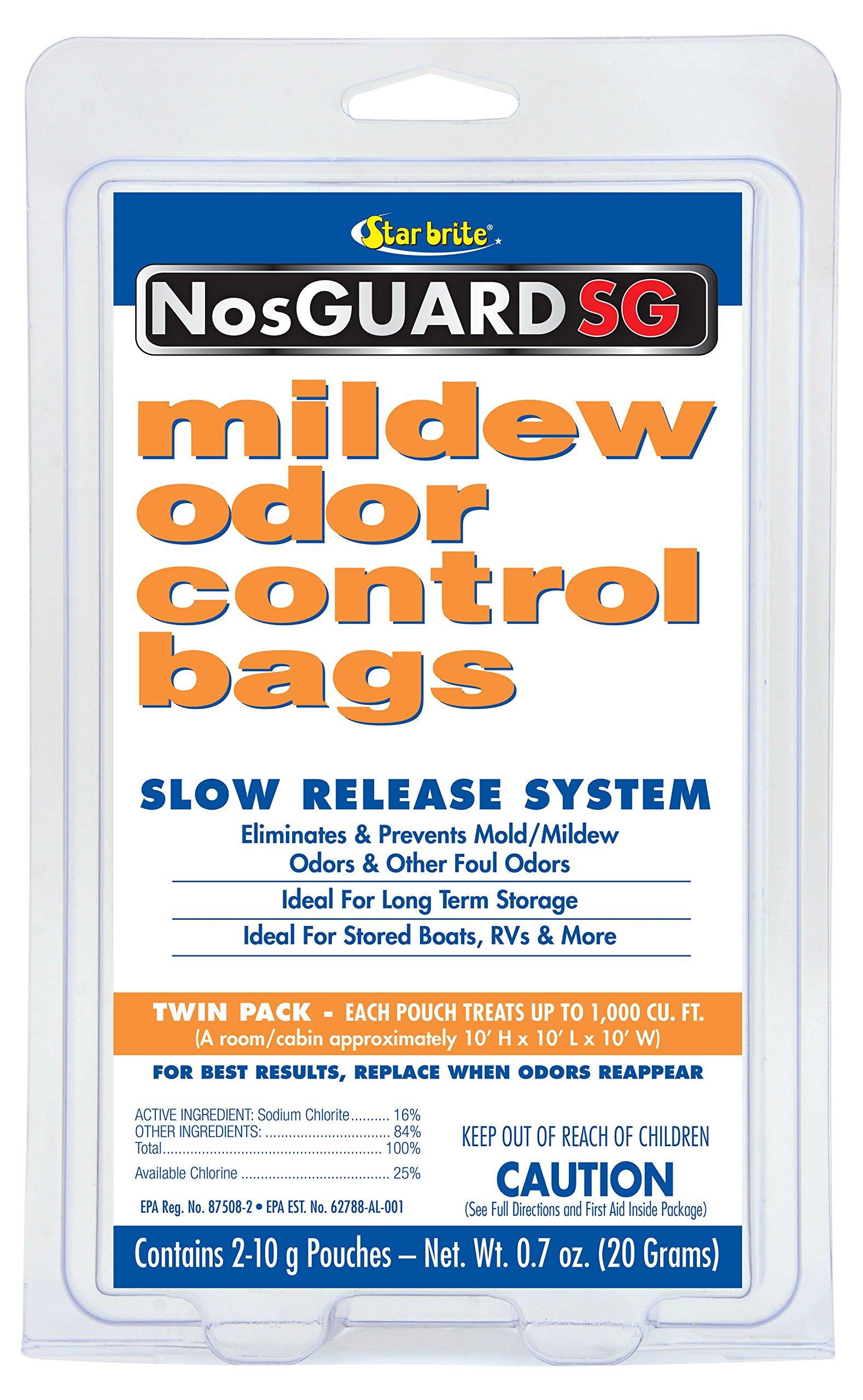 Star brite Mildew Odor Control - Slow Release System (25/pack) by Star Brite