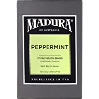 Madura Peppermint 20 Enveloped Tea Bags, 1 x 30 g