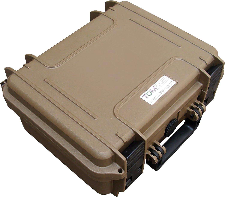 Sahara TOMcase Profesional Estuche Dji Mavic Pro//platino color la caja impermeable al aire libre IP67 la maleta del recorrido edici/ón con espacio para 5 bater/ía y los accesorios