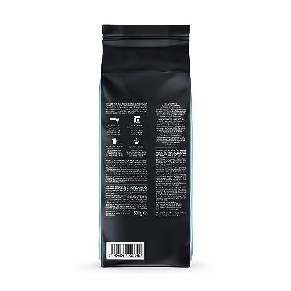 Marca Amazon - Happy Belly Café descafeinado de tueste natural en grano