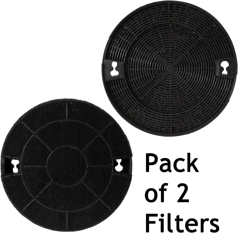 Spares2go Tipo do29 Carbono filtros de carbón para Indesit Campana extractora/Cocina Extractor Ventilación (Pack de 2): Amazon.es: Hogar