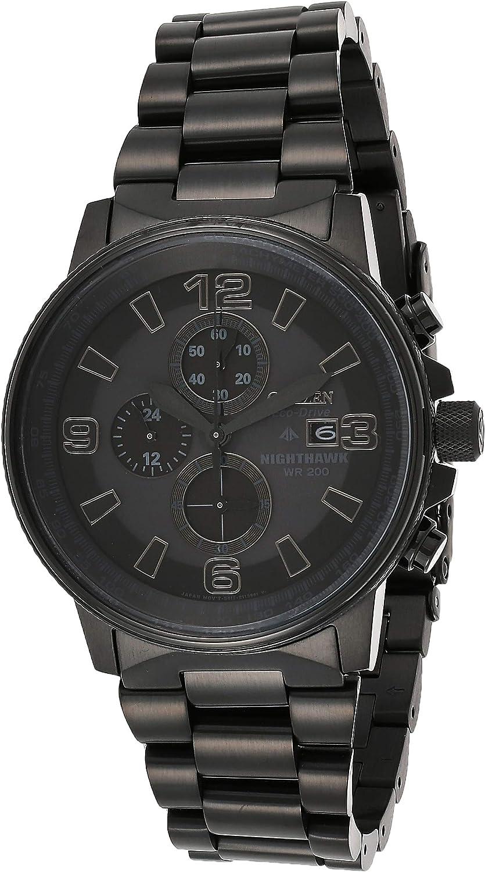 Citizen CA0295-58E - Reloj para Hombre, Correa de Acero Inoxidable Color Negro