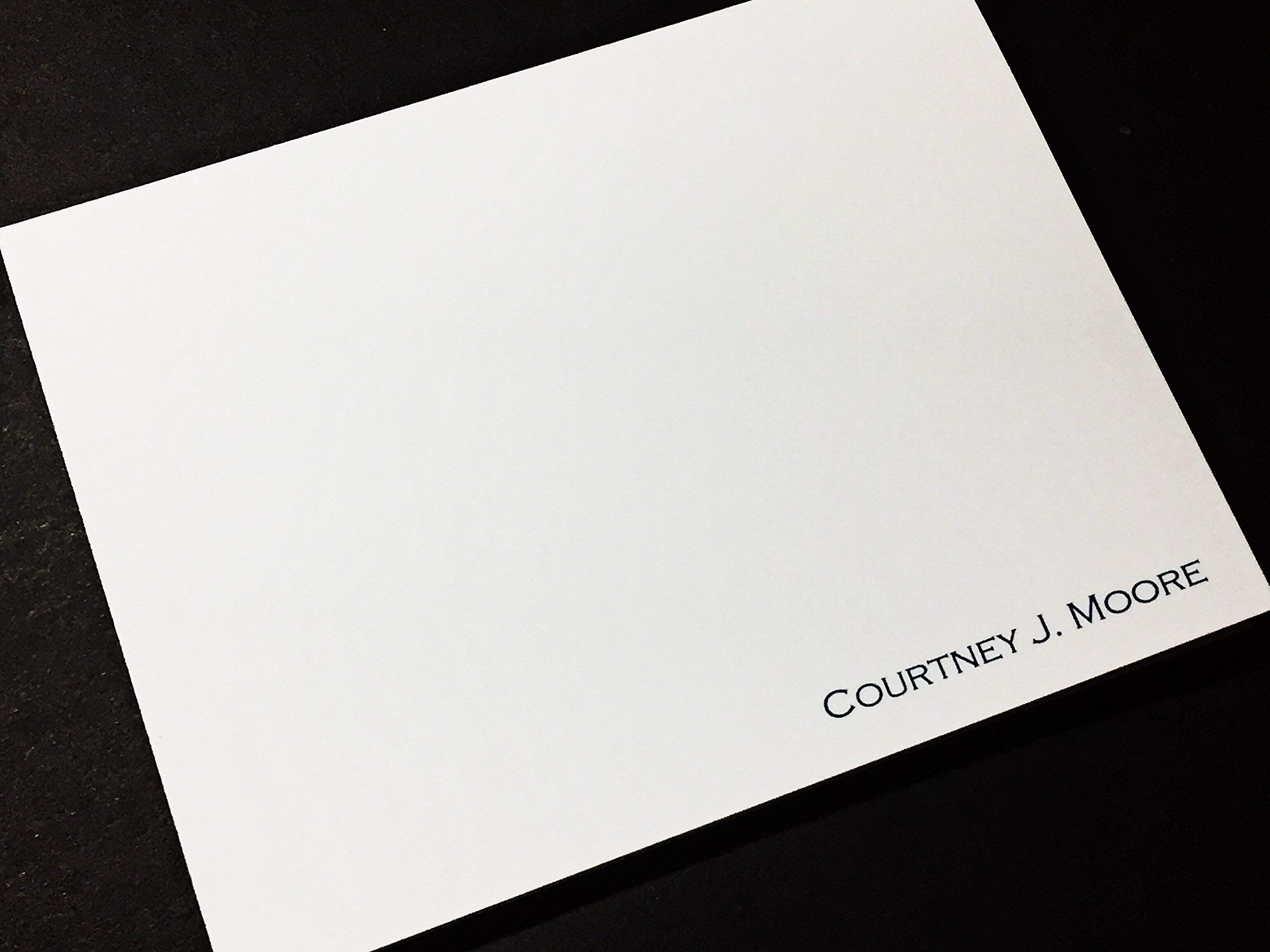 Personalized Stationery Note Cards - Thank You Notes - Set of 12 with Envelopes