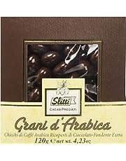 Slitti Chicchi di Caffè Arabica Ricoperti di Cioccolato Fondente Extra - 120 G