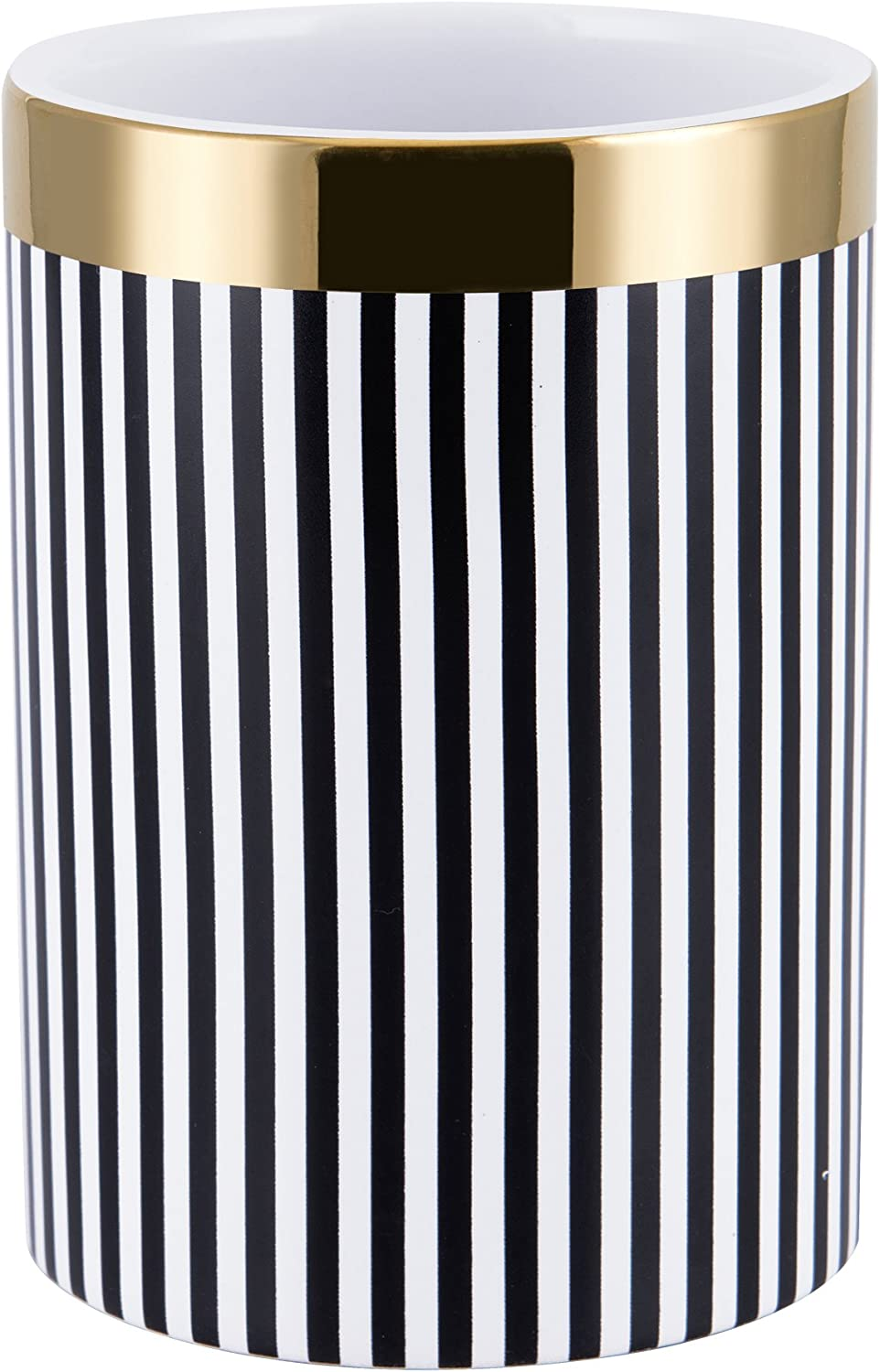 Allure Home Creations Derby Tumbler, Black