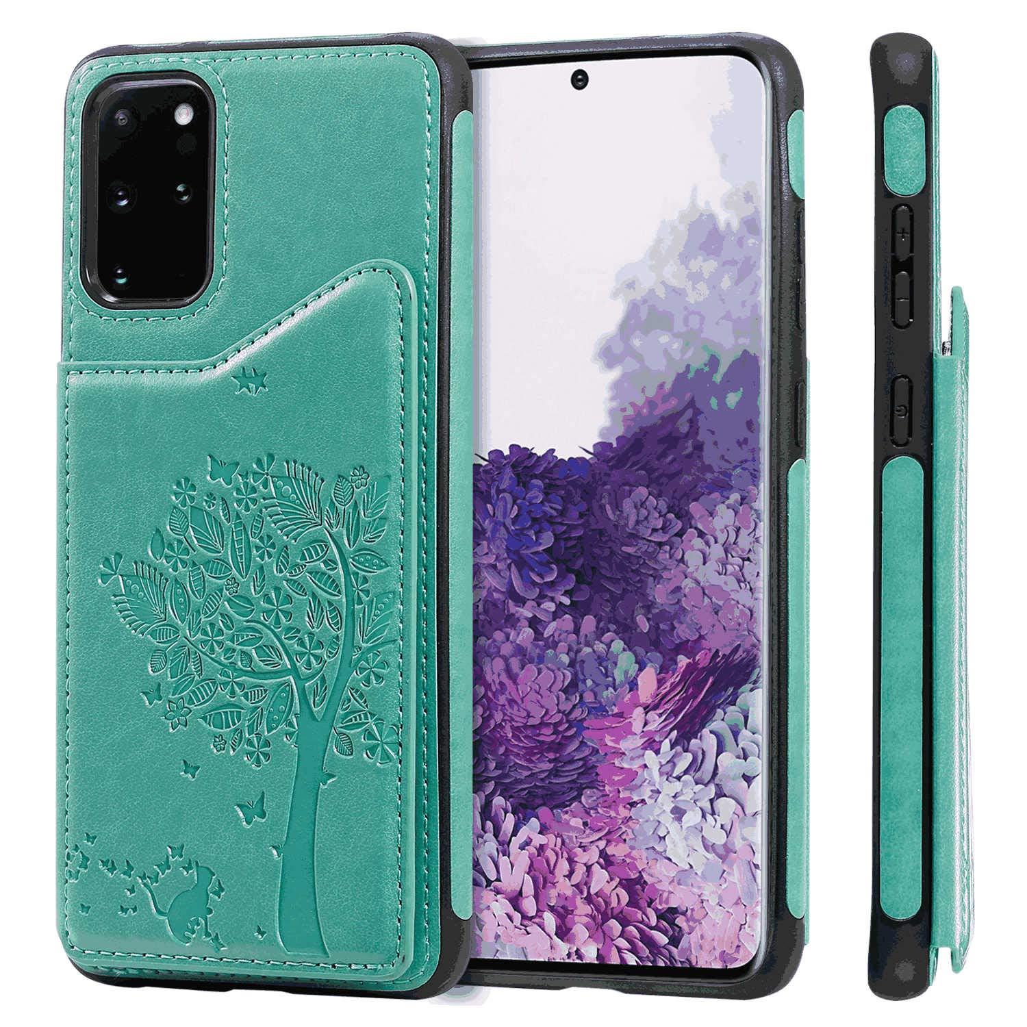 Black PU Leather Wallet Flip Case for iPhone 11 Pro Positive Cover Compatible with iPhone 11 Pro