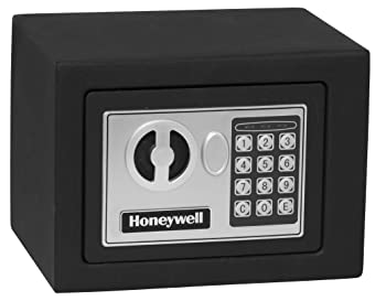 Honeywell 0.17 Cubic Feet Steel Safe