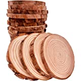 Unfinished Natural Wood Slices 20 Pcs 3.5-4 inch Craft Wood kit Circles Crafts Christmas Ornaments Rustic Wedding…