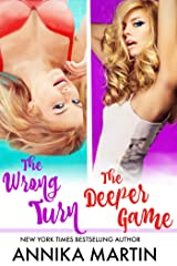 The Wrong Turn & The Deeper Game: An exciting two-for-one! Kindle Edition