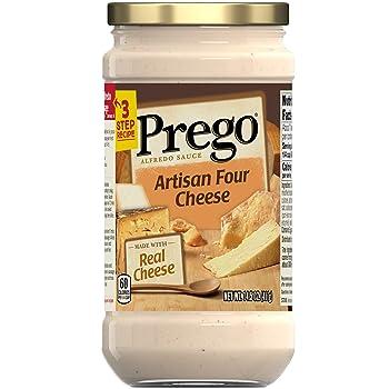 Prego Four Cheese Alfredo Sauce