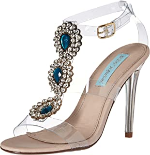 0bfc5f3a2e Amazon.com | Summitfashions Womens Trendy Lucite Clear Sandals Shoes ...