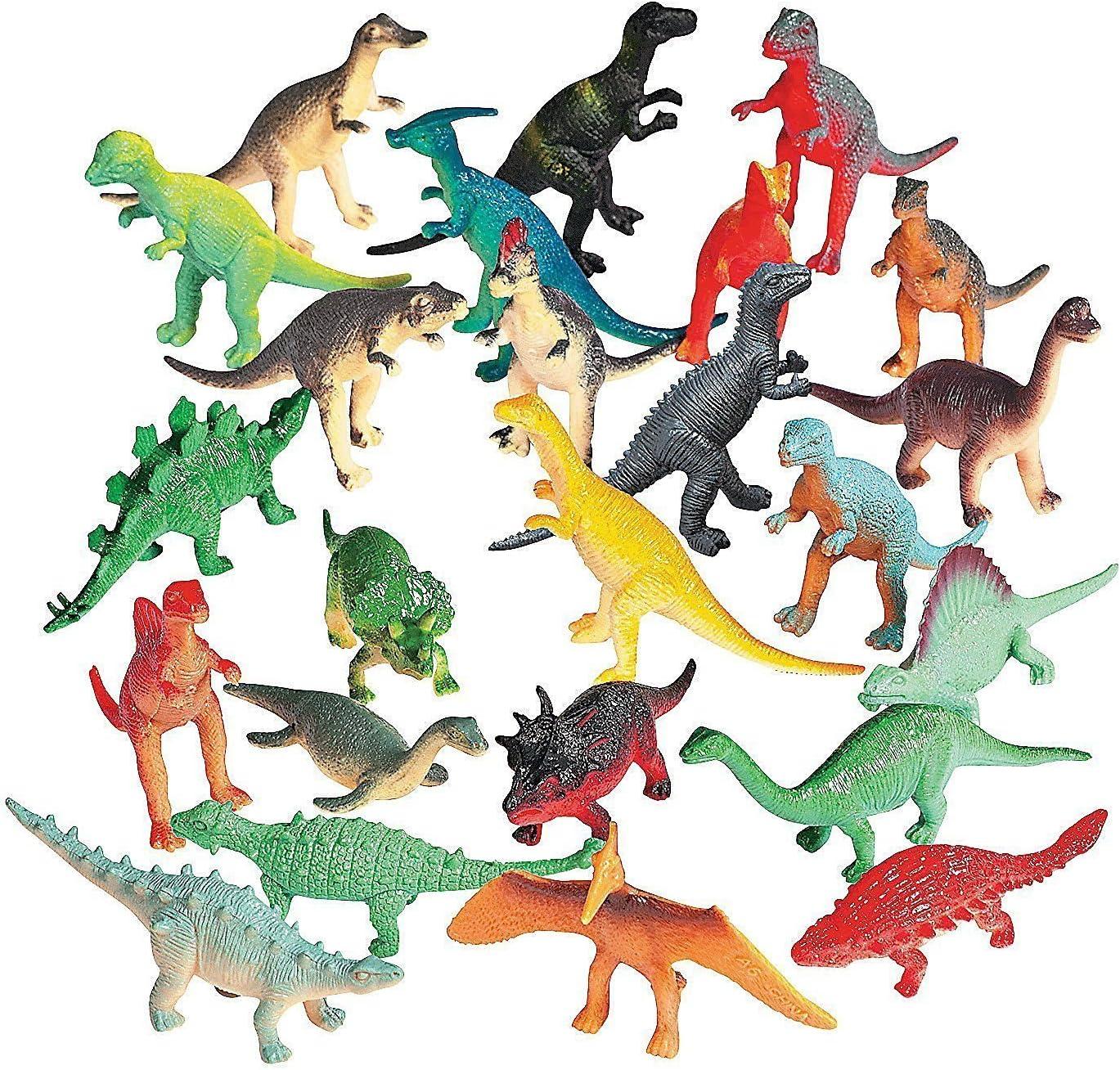 72 pc Vinyl Dinosaurs; 2-1/2