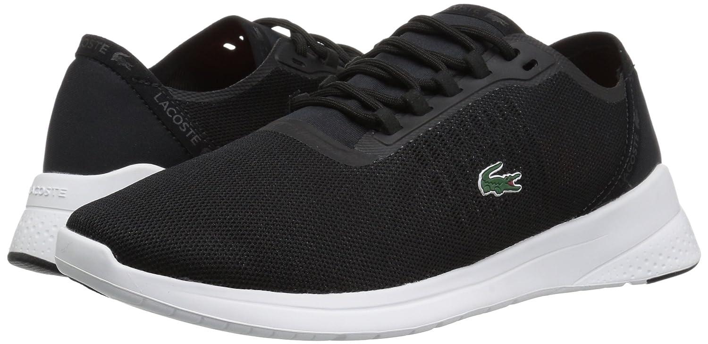 Lacoste B072KJLZ8C Women's LT Fit 118 4 SPW Sneaker B072KJLZ8C Lacoste 5 B(M) US|Black/Dark Grey 26305c