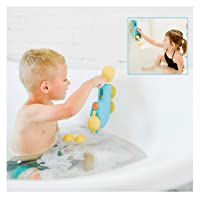 Inspiration Play Fill N' Splash Submarine Bath Toy for Baby, Toddlers, Preschoolers Ages 18 mo-5 yrs