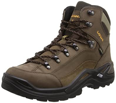 Lowa Men's Renegade GTX Mid Hiking BootDark Grey/Navy11.5 W US