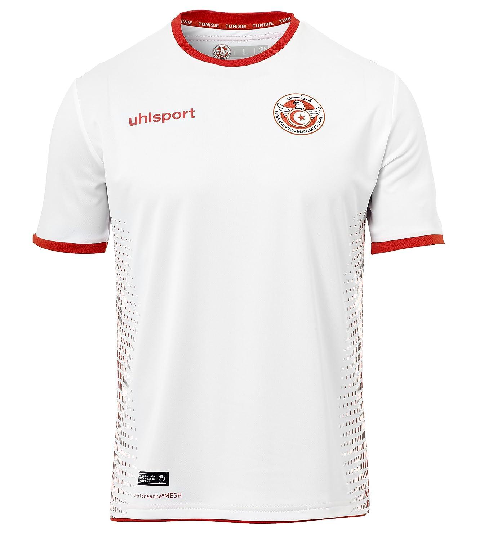 uhlsport Tunisia Camiseta de Entrenamiento, Hombre: Amazon.es ...