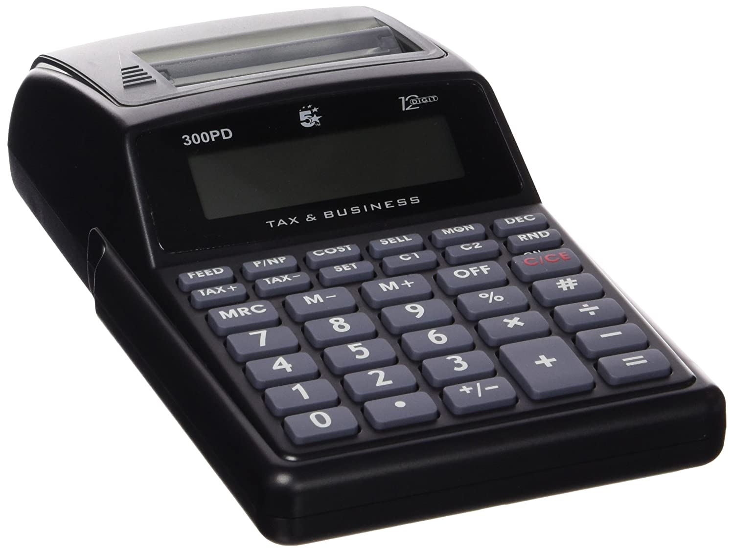 5 Star 5STAR 512PD - Calculadora con impresora: Amazon.es ...