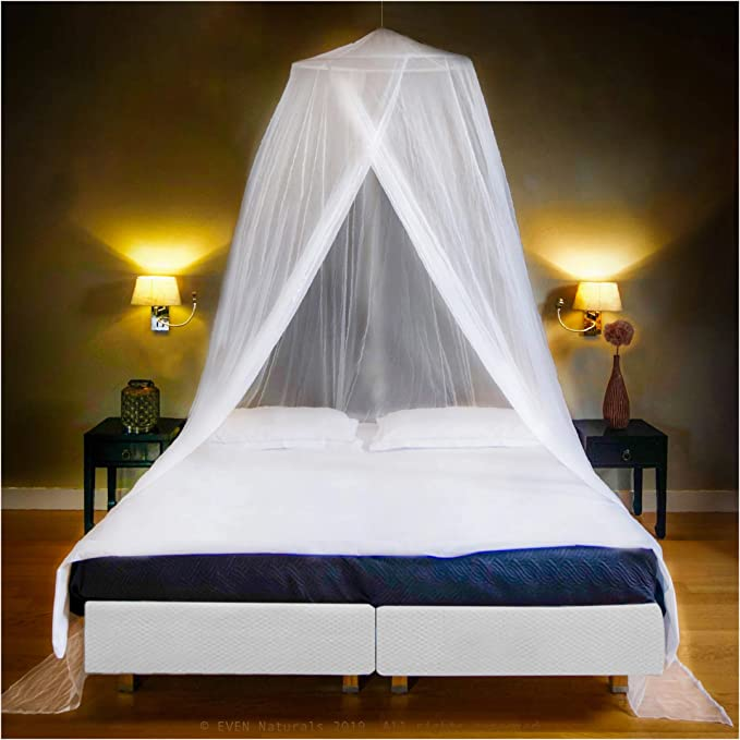 "Black, 80x40x80/"" Hixonair Bed Curtains Canopy Black Mosquito Net for Bed Mosquito Netting Mesh for Indoor Outdoor Midge Net"