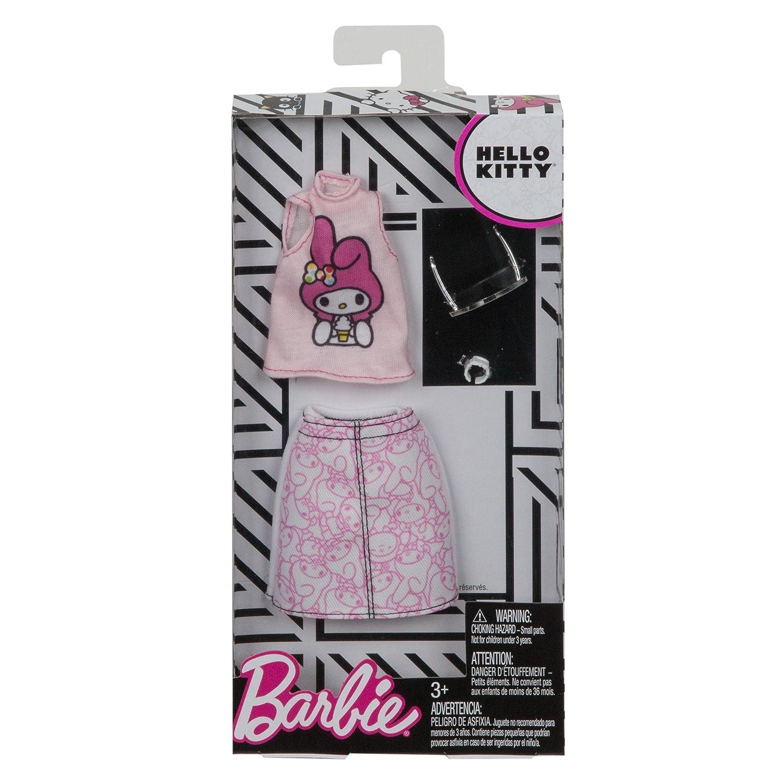 Barbie Moda Hello Kitty Outfit Assortment mu/ñeca Playsets