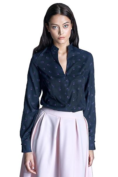 Nife Blusa Azul Oscuro/Rosa ES 46 (DE 44)