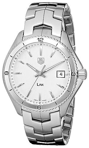 TAG Heuer Men s WAT1111.BA0950 Stainless Steel Watch with Link Bracelet