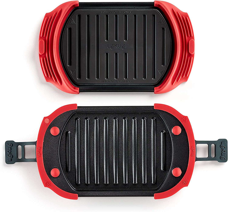 Amazon.com: Lekue 0220400R14M500 - Plancha para microondas ...