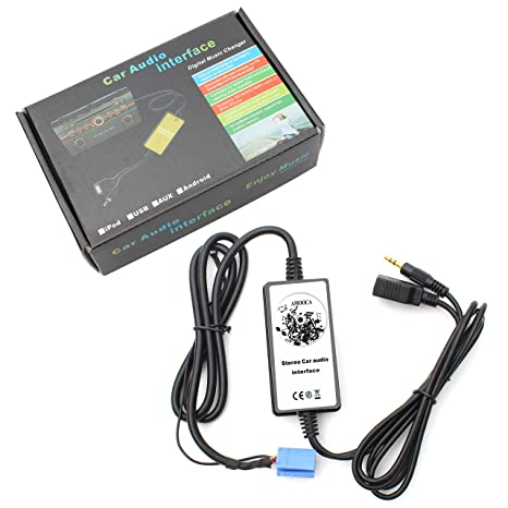 Amazon com: Amooca Car Car MP3 USB Interface Adapter Audio