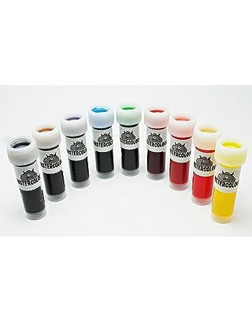 colorantes alimentarios líquidos en súper set de 9 unidades