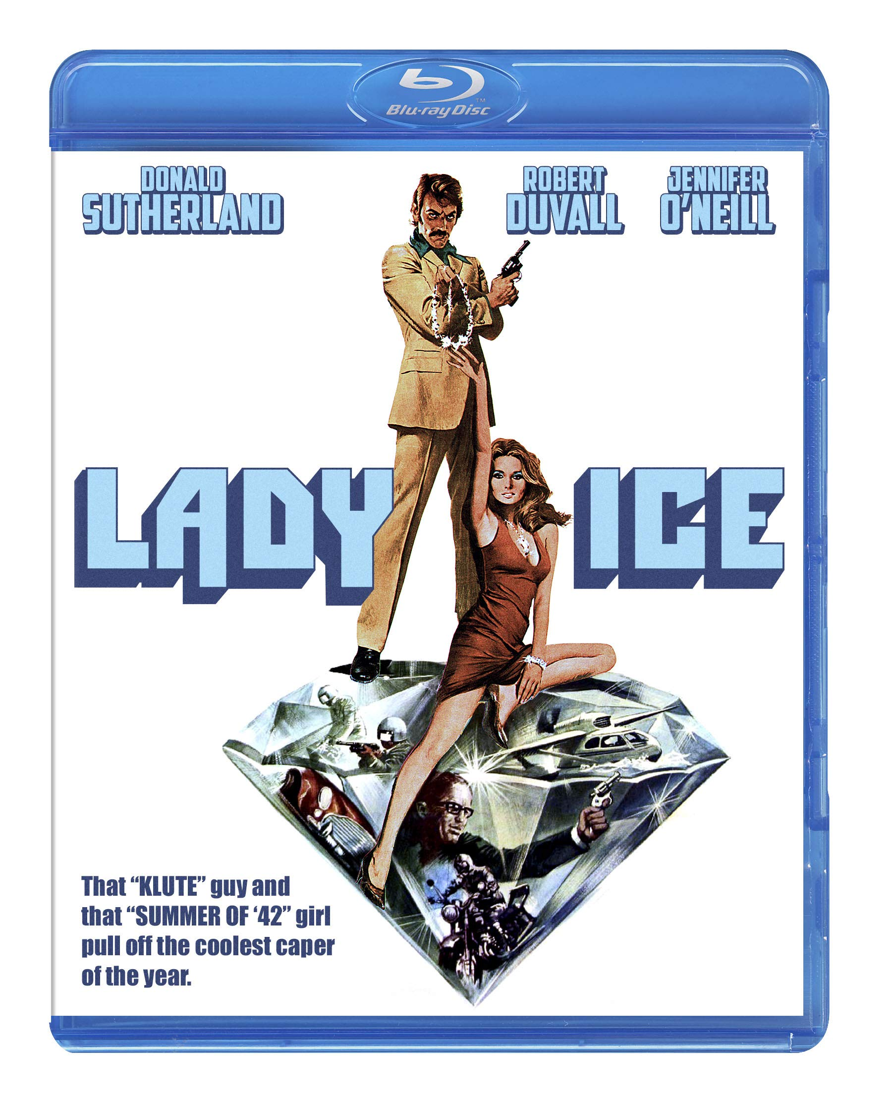 Blu-ray : Lady Ice (Blu-ray)
