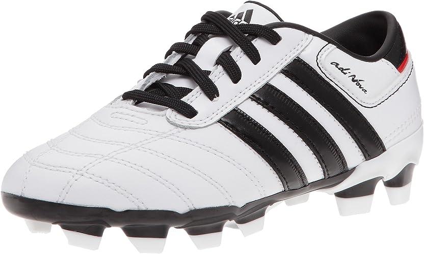 ir al trabajo Adiccion Apuesta  adidas adiNova II TRX FG J Football Boots Football On Site Drive Children  White/Black/Red Hot White Size: 2.5: Amazon.co.uk: Shoes & Bags