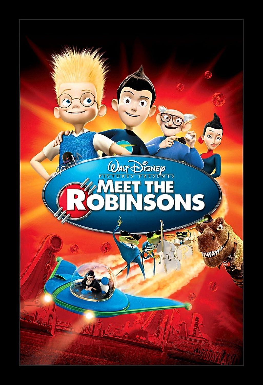 Amazon.com: Wallspace Meet The Robinsons - 11x17 Framed Movie ...