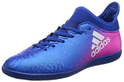 newest collection b91de bc415 adidas X 16.3 Indoor, Scarpe da Calcio Unisex – bambini, Blu (Azul