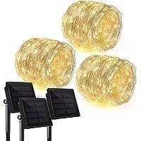 Paquete de 3 Ankway Actualizado 200 LEDs Luces