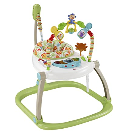 009d4f7c7 Fisher-Price CHN38 Rainforest Spacesaver Jumperoo