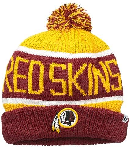 b8946a047 Amazon.com   NFL Washington Redskins Men s Calgary Knit Cap