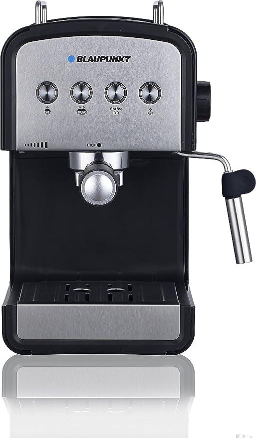 Blaupunkt CMP401 Cafetera Express, 850 W, 1.2 litros, 35 Decibeles, Acero inoxidable, Negro: Amazon.es: Hogar