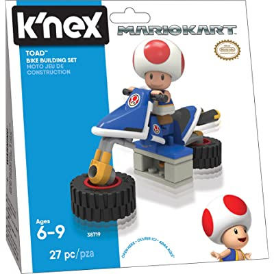 Nintendo Mario Kart Toad Bike Building Set: Toys & Games