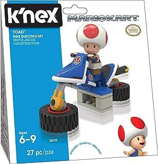 Amazon Com Nintendo Mario Kart Yoshi Bike Building Set Toys Games