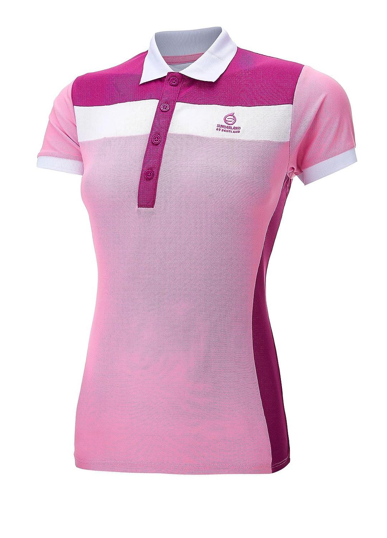 21513662 Sunderland Ladies Golf Polo Shirt Pink/Raspberry Small: Amazon.co.uk:  Sports & Outdoors